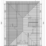 Denah atap rumah minimalis karawaci tangerang