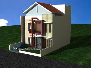 Gambar renovasi rumah minimalis modern citragran cibubur