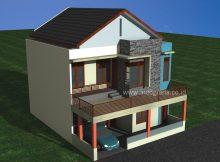 Rumah Minimalis Modern di Cimanggis