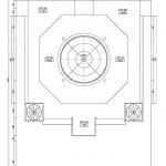 Denah Atap Masjid minimalis di Bone Sulawesi Selatan
