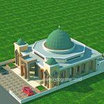Desain masjid minimalis di Bone Sulawesi Selatan