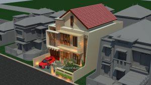 Jasa desain arsitek rumah minimalis di BSD City Tangerang Selatan