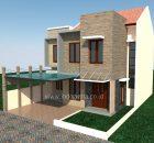 Rumah minimalis raffless hills cibubur