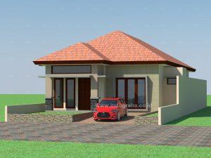 Desain rumah minimalis 1 lantai di bogor