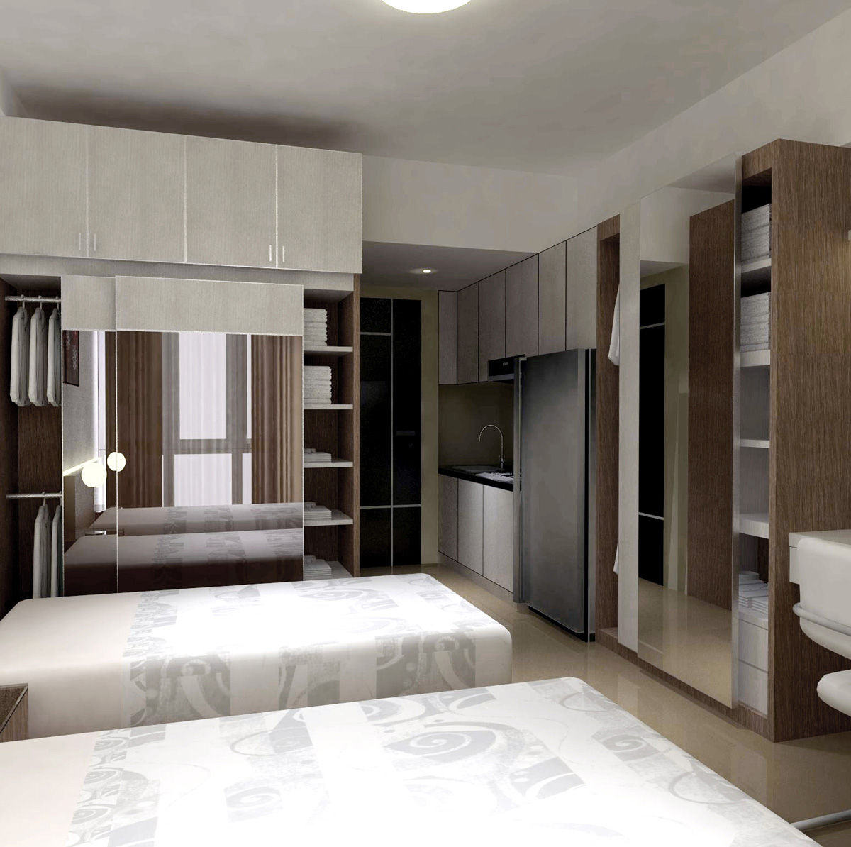 Interior Apartemen Taman Melati Margonda