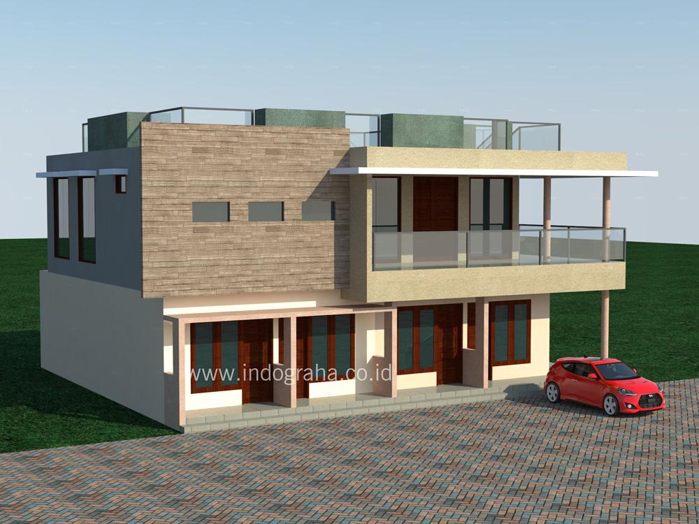 Desain Rumah Minimalis di Sentul City