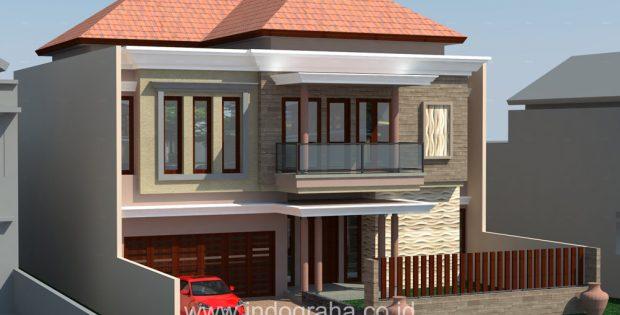 Desain Rumah 2 lantai di pondok indah jakarta