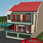 Desain Warna Rumah Minimalis Jatimekar Bekasi
