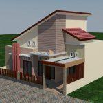 Desain rumah minimalis 1 lantai di kota lamongan