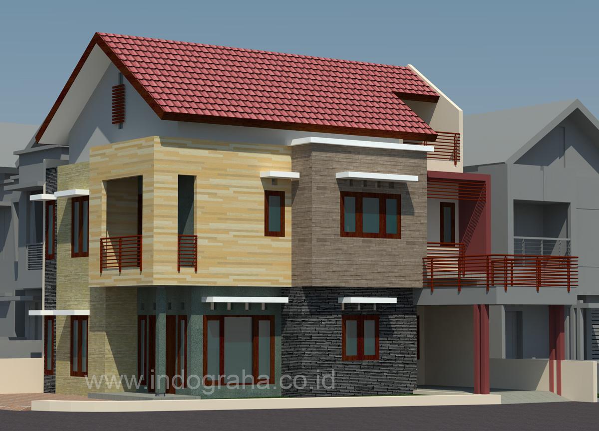 Gambar Rumah Minimalis di Graha Cinere Depok