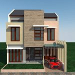 Gambar Rumah Modern minimalis villa nusa indah