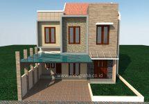 Gambar rumah minimalis Raffless Hills Cibubur