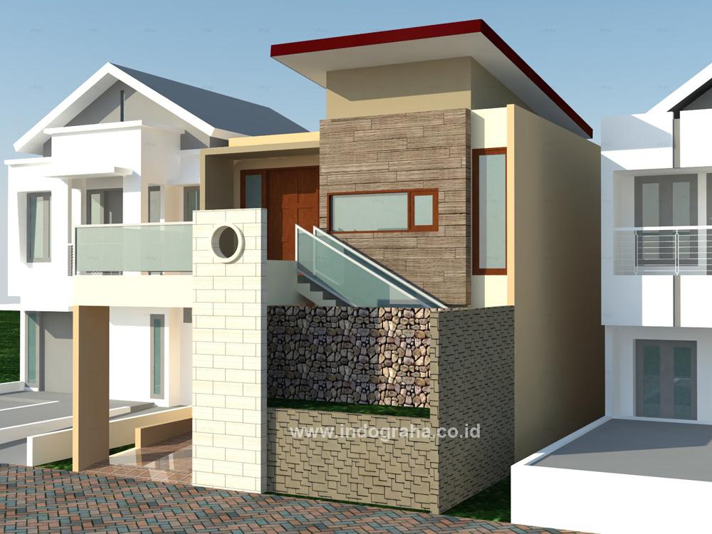 Gambar rumah minimalis modern 2 lantai di parung bingung depok & Desain Rumah Minimalis 2 Lantai di Maruyung Depok \u2013 Indograha Arsitama