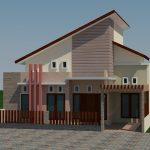 Jasa desain rumah tinggal minimalis di Surabaya