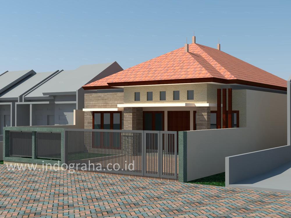 Model rumah minimalis di pinang ranti jakarta