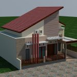 Model rumah minimalis modern 1 lantai di lamongan