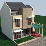 Model rumah minimalis modern villa nusa indah