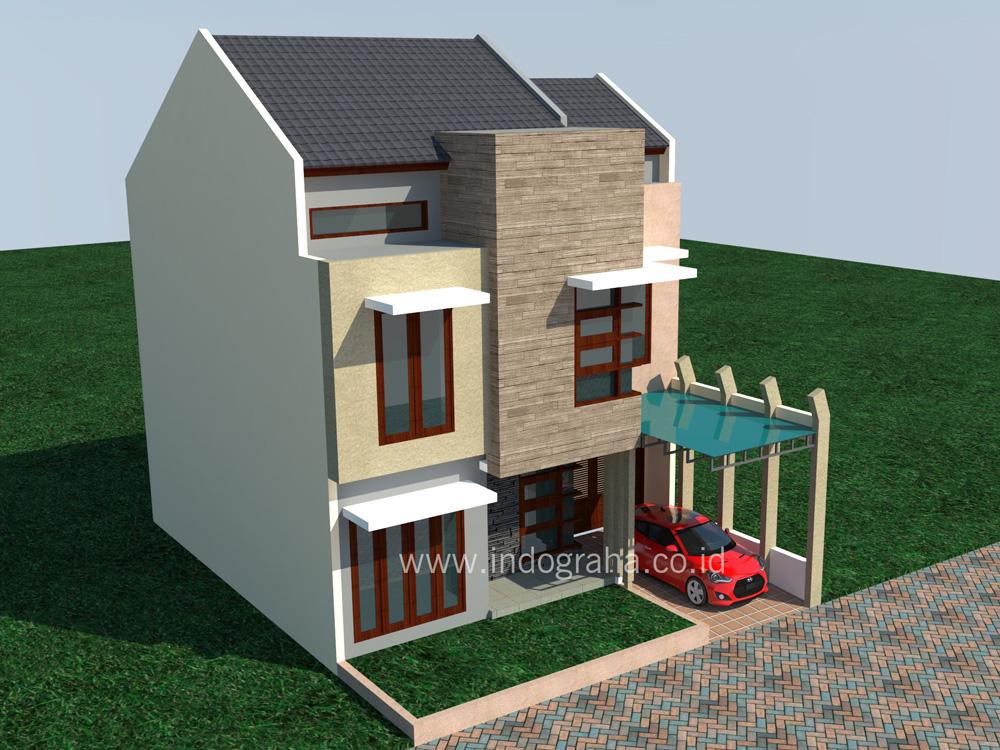 Model Rumah Minimalis Di Villa Nusa Indah Cibubur