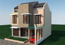 Renovasi rumah minimalis villa nusa indah cibubur