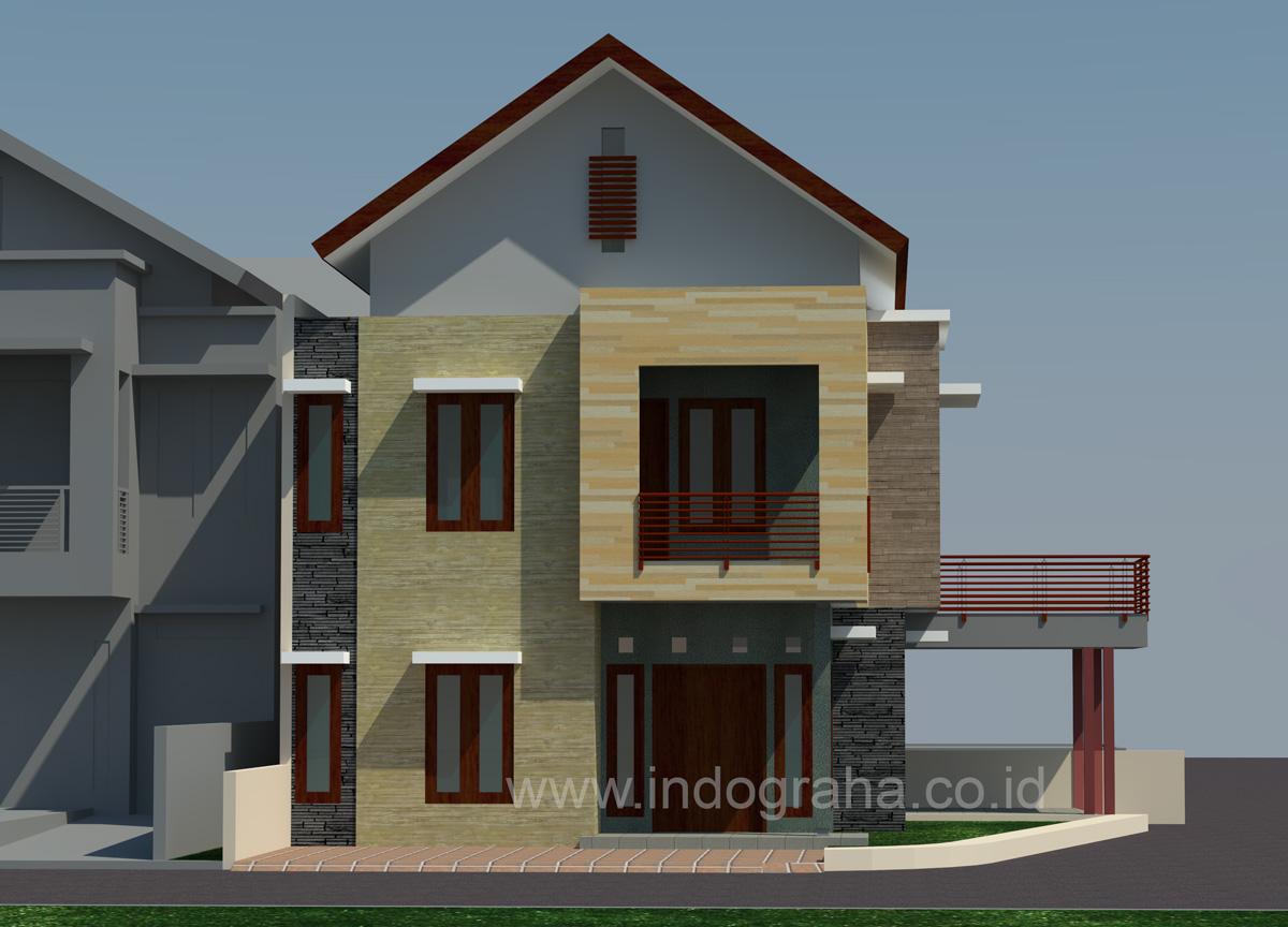 Rumah Minimalis tingkat 2 di Gandul Cinere Depok