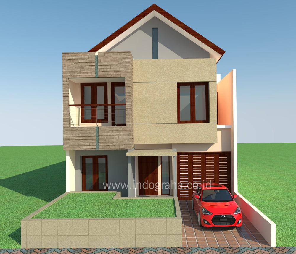 Model rumah minimalis 2 lantai di citragran cibubur