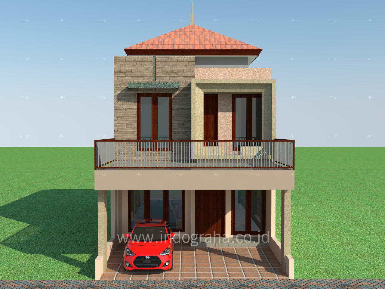 90 Rumah Minimalis Villa