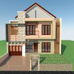 Desain model rumah minimalis di bsd city