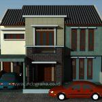 Bangun Rumah Minimalis 2 lantai Tebet