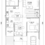 Denah Lantai 1 Rumah Minimalis di grand depok city