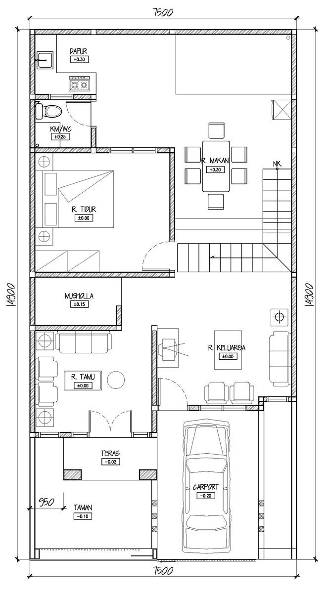 Image Result For Desain Rumah Type
