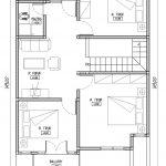 Denah Rumah Minimalis Lantai 2 Bekasi