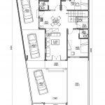 Denah lantai 1 rumah kost di jl baung lenteng agung