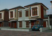 Desain Perumahan Minimalis tingkat 2 di Bogor