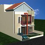 Desain rumah minimalis 2 lantai di citragran cibubur