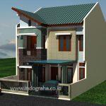Desain Rumah Minimalis Puri Gading Bekasi