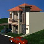 Desain renovasi rumah puri bintaro sektor 9