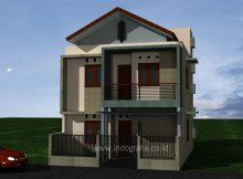 Model Rumah Kost Minimalis Bekasi