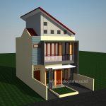 Model Rumah Minimalis 2 lantai di Grand Depok City