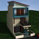 Renovasi Model Rumah Minimalis tingkat 3 di ciputat tangsel