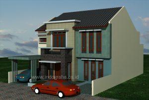Model Rumah Minimalis Modern Tebet