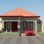 Model rumah minimalis 1 lantai di kota bogor