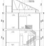 Potongan 1 Rumah Minimalis modern di perumahan gdc depok