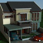 Renovasi Rumah Minimais 2 lantai Tebet