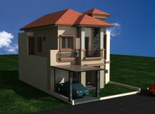 Renovasi rumah minimalis di perumahan puri bintaro