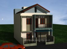 Rumah Kost Minimalis 2 lantai di Bekasi timur