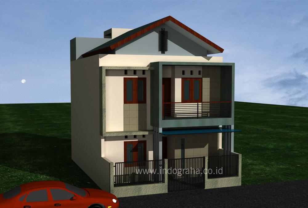 Rumah Kost Minimalis 2 lantai di Bekasi timur & Desain rumah kost minimalis bekasi   Indograha Arsitama