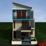 Gambar Rumah model Minimalis 3 Lantai di Tangerang Selatan