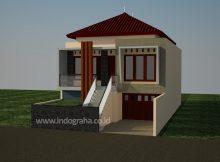 Rumah Minimalis modern perumahan the address cibubur