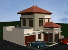 Model Rumah Minimalis Modern 2 lantai di permata depok citayam