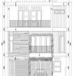 Tampak Depan Rumah modern minimalis di Ciputat